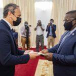 French Ambassador-Designate Presents Letter of Credence to Sierra Leone's President Julius Maada Bio