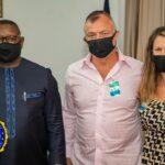 Komeo International Ministries USA Pays Courtesy Call on Sierra Leone's President Julius Maada Bio